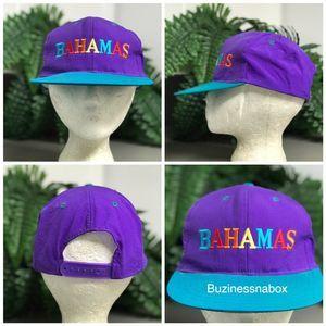 Vtg Bahamas SnapBack Hat